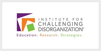 Institute for challenging disorganization logo professional organizer help